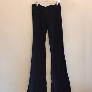 Lululemon black yoga pants. Size 4